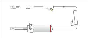 def y filtro luer lock